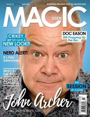 Magicseen No. 79 (Mar 2018) by Mark Leveridge & Graham Hey & Phil Shaw