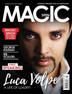 Magicseen No. 81 (Jul 2018) by Mark Leveridge & Graham Hey & Phil Shaw
