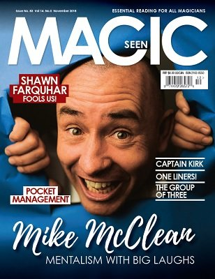 Magicseen No. 83 (Nov 2018) by Mark Leveridge & Graham Hey & Phil Shaw