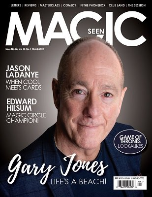 Magicseen No. 85 (Mar 2019) by Mark Leveridge & Graham Hey & Phil Shaw