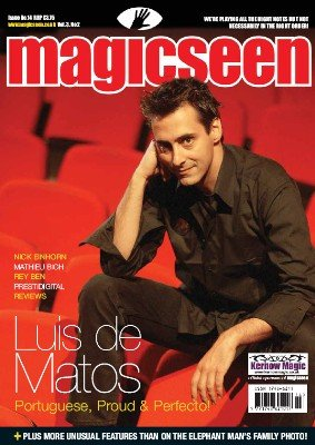Magicseen No. 14 (May 2007) by Mark Leveridge & Graham Hey & Phil Shaw