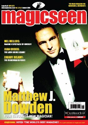 Magicseen No. 18 (Jan 2008) by Mark Leveridge & Graham Hey & Phil Shaw