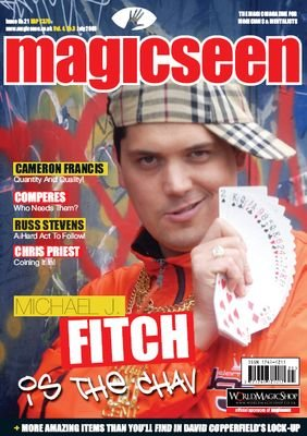 Magicseen No. 21 (Jul 2008) by Mark Leveridge & Graham Hey & Phil Shaw