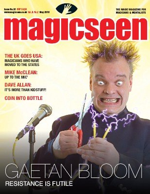 Magicseen No. 32 (May 2010) by Mark Leveridge & Graham Hey & Phil Shaw