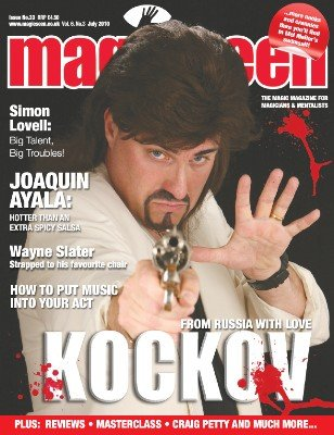 Magicseen No. 33 (Jul 2010) by Mark Leveridge & Graham Hey & Phil Shaw