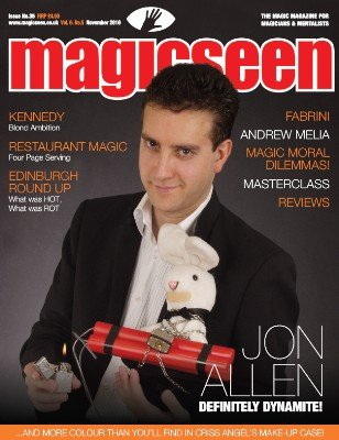 Magicseen No. 35 (Nov 2010) by Mark Leveridge & Graham Hey & Phil Shaw