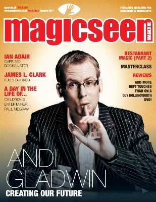 Magicseen No. 36 (Jan 2011) by Mark Leveridge & Graham Hey & Phil Shaw