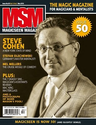 Magicseen No. 50 (May 2013) by Mark Leveridge & Graham Hey & Phil Shaw
