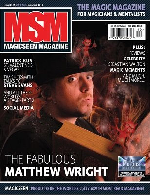 Magicseen No. 53 (Nov 2013) by Mark Leveridge & Graham Hey & Phil Shaw