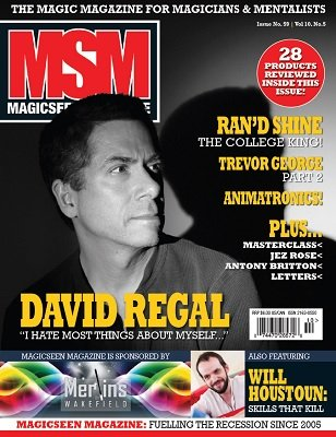 Magicseen No. 59 (Nov 2014) by Mark Leveridge & Graham Hey & Phil Shaw