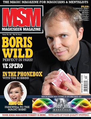 Magicseen No. 60 (Jan 2015) by Mark Leveridge & Graham Hey & Phil Shaw