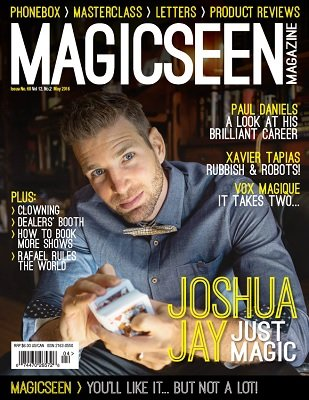 Magicseen No. 68 (May 2016) by Mark Leveridge & Graham Hey & Phil Shaw