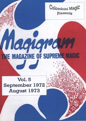 Magigram: 10 effects from volume 5 by Aldo Colombini