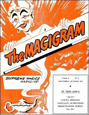 Magigram Volume 1 (Sep 1966 - Aug 1968) by Supreme-Magic-Company