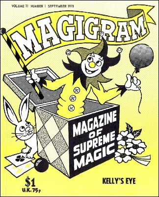 Magigram Volume 11 (Sep 1978 - Aug 1979) by Supreme-Magic-Company