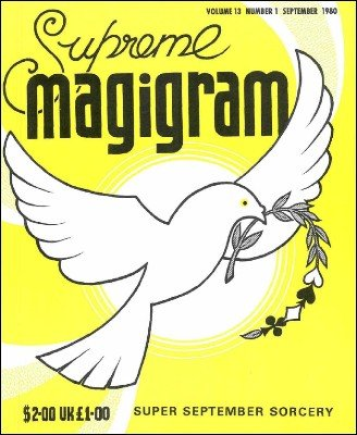 Magigram Volume 13 (Sep 1980 - Aug 1981) by Supreme-Magic-Company