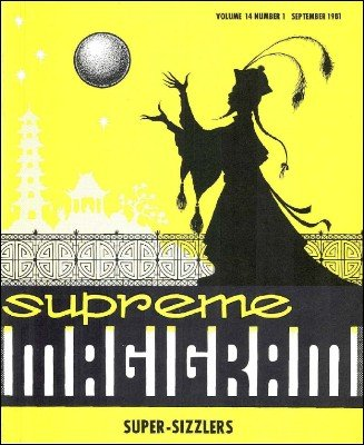Magigram Volume 14 (Sep 1981 - Aug 1982) by Supreme-Magic-Company