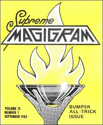 Magigram Volume 15 (Sep 1982 - Aug 1983) by Supreme-Magic-Company