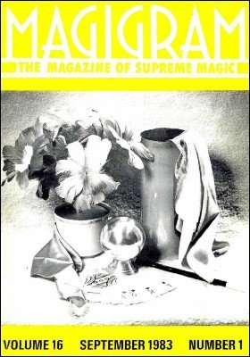 Magigram Volume 16 (Sep 1983 - Aug 1984) by Supreme-Magic-Company