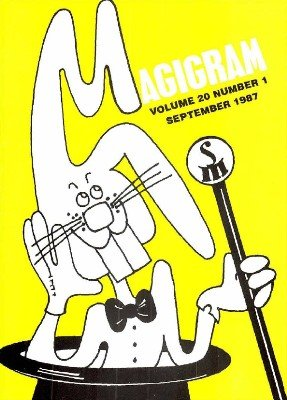 Magigram Volume 20 (Sep 1987 - Aug 1988) by Supreme-Magic-Company