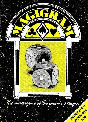 Magigram Volume 21 (Sep 1988 - Aug 1989) by Supreme-Magic-Company