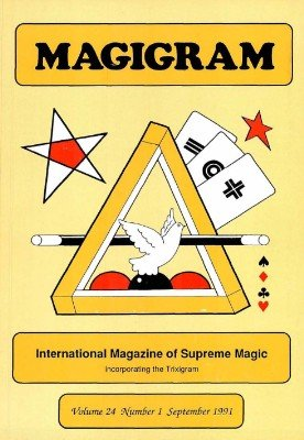 Magigram Volume 24 (Sep 1991 - Aug 1992) by Supreme-Magic-Company