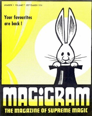 Magigram Volume 7 (Sep 1974 - Aug 1975) by Supreme-Magic-Company