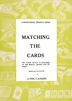 Matching the Cards Teach-In by Lewis Ganson