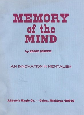 Memory of the Mind by Eddie Joseph