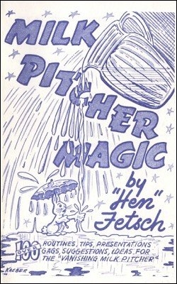 Milk Pitcher Magic by Hen Fetsch