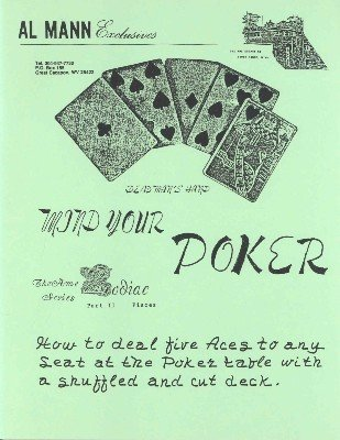 Mind Your Poker (for resale) by Al Mann