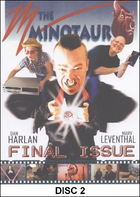 THE MINOTAUR Final Issue DVD Disc 2 by Marvin Leventhal & Dan Harlan