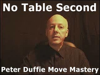 No Table Second by Peter Duffie