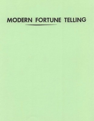 Modern Fortune Telling by S. W. Reilly