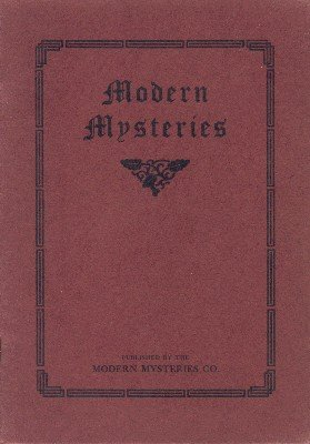 Modern Mysteries by G. C. Hines