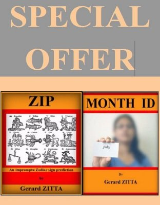Month ID and ZIP Bundle by Gerard Zitta