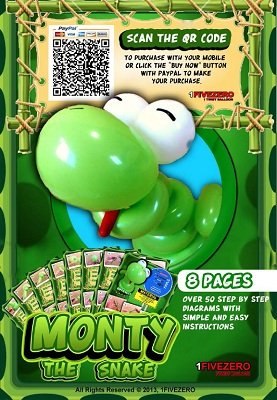 Monty the Snake by Aaron Chee
