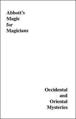 Occidental and Oriental Mysteries by Percy Abbott