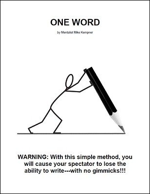 One Word by Mike Kempner