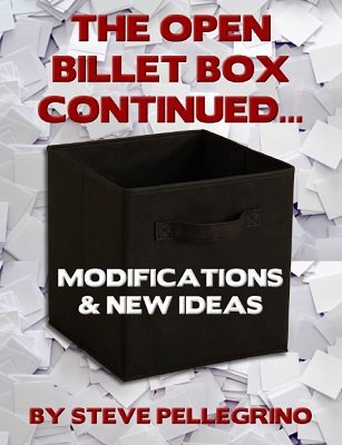The Open Billet Box Continued by Steve Pellegrino