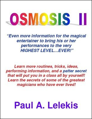 Osmosis II by Paul A. Lelekis