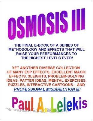 Osmosis III by Paul A. Lelekis