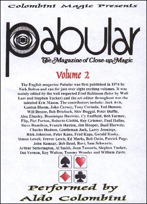 Pabular: 10 effects from volume 2 by Aldo Colombini