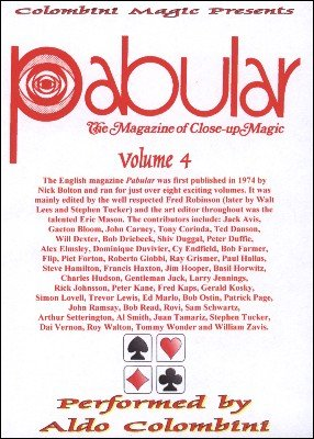 Pabular: 10 effects from volume 4 by Aldo Colombini