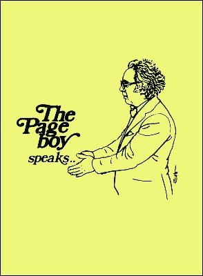 The Page Boy Speaks by Patrick Page