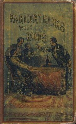 Parlor Tricks with Cards (used) by Wiljalba Frikell