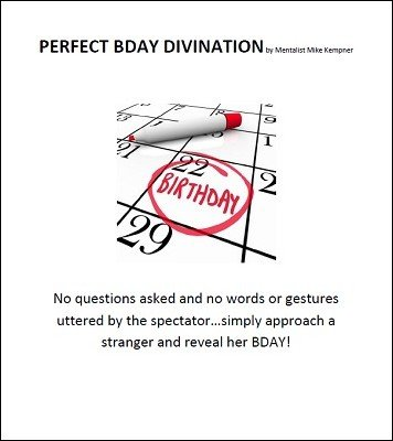 Perfect BDay Divination by Mike Kempner