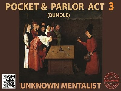 Pocket and Parlor Act Bundle 3 by Unknown Mentalist