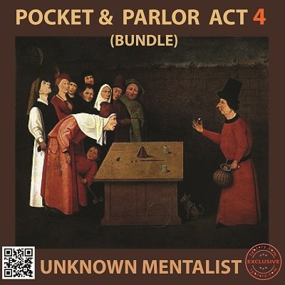 Pocket and Parlor Act Bundle 4 by Unknown Mentalist