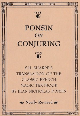 Ponsin on Conjuring by Sam Sharpe